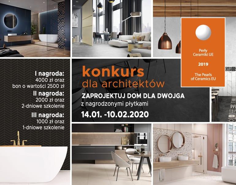 Perły 2020 - Dom dla dwojga konkurs dla architektów i projektantów - CAD Projekt