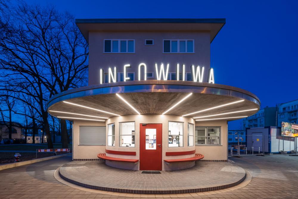 Wybierz najlepszą realizację 2019 - plebiscyt Polska Architektura XXL - Rewaloryzacja i modernizacja pawilonu INFOWUWA na osiedlu WuWA we Wrocławiu, arch_it