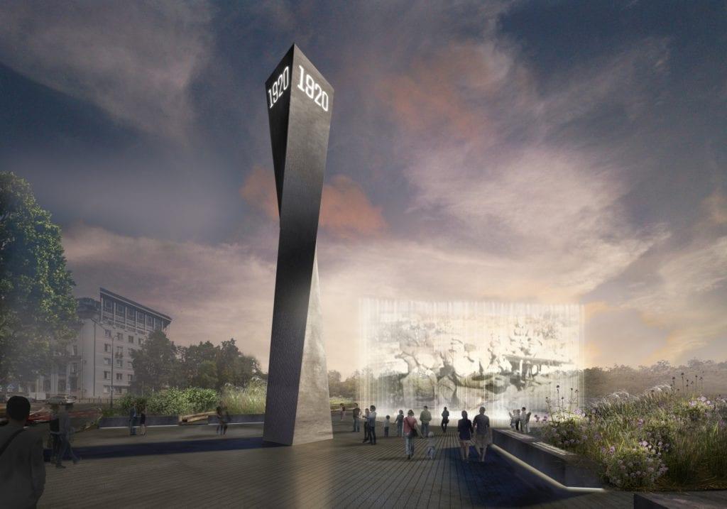 Pomnik Bitwy Warszawskiej 1920 projektu Nizio Design International