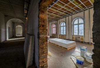 Budynek Dyrekcji Stoczni Gdańskiej odzyskuje należyty blask
