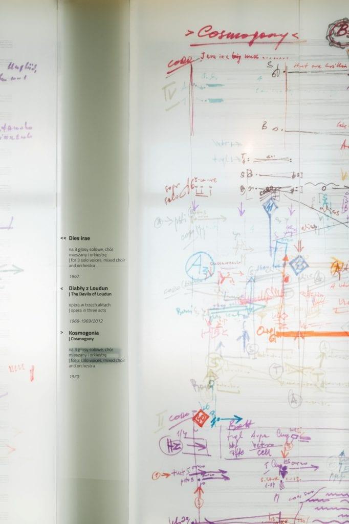"""Wystawa """"Krzysztof Penderecki – Dziedzictwo Polskiej Muzyki XX i XXI wieku"""" - Mirosław Nizio - Nizio Design International - Europejskie Centrum Muzyki"""