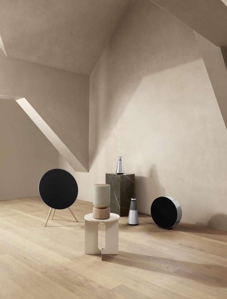 Beosound Balance - potężny głośnik domowy od Bang & Olufsen - Benjamin Hubert - Layer