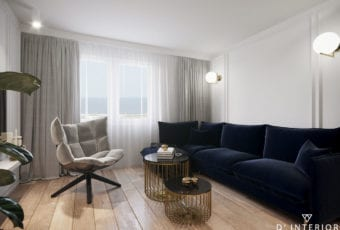D'INTERIOR i projekt mieszkania na wynajem