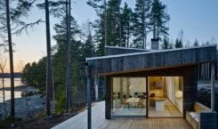 Dalarna House projektu Dive Architects