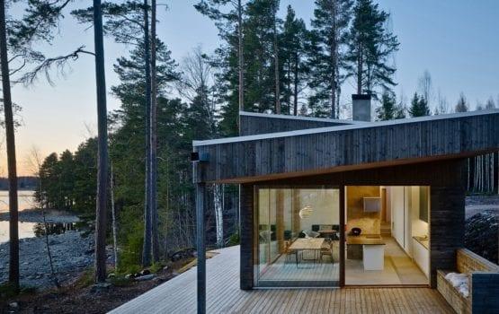 Dalarna House projektu Dive Architects