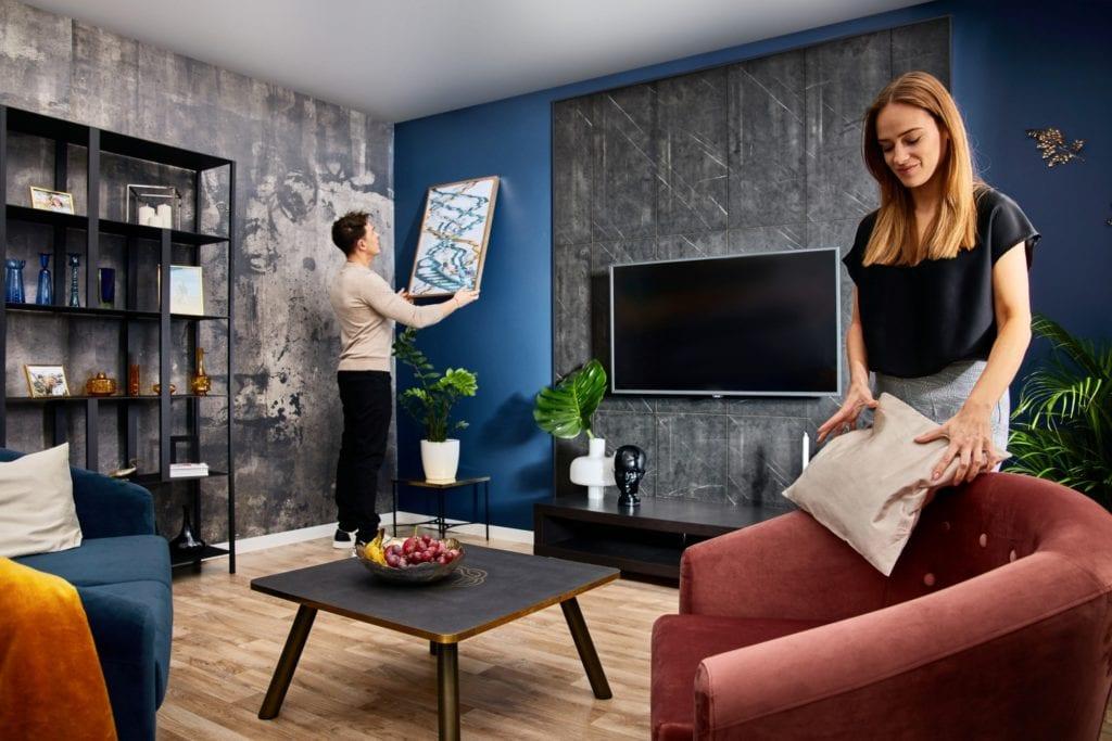 Dekoracja ścian - co powiesić i jak to zrobić? Walldesign Swiss Krono