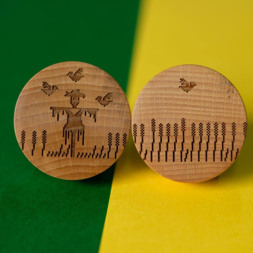 Duxi – polska pracownia, która wyznacza kierunek - drewniane gałki do mebli