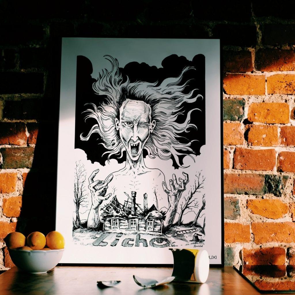 Duxi – polska pracownia, która wyznacza kierunek - Plakat Licho