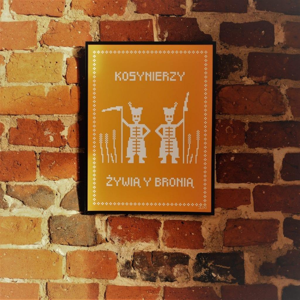 Duxi – polska pracownia, która wyznacza kierunek - Plakat Kosynierzy