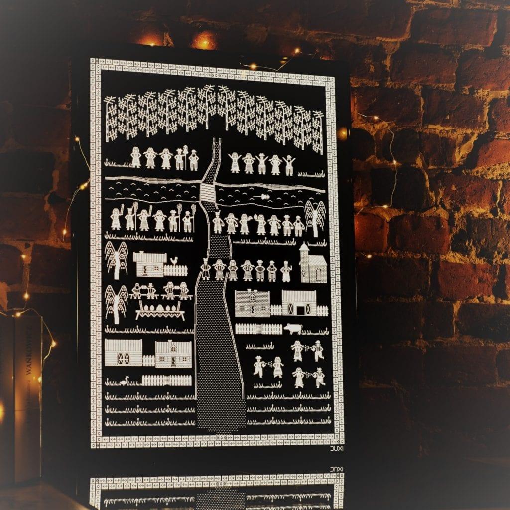 Duxi – polska pracownia, która wyznacza kierunek - Grafika podświetlana Wielkanoc