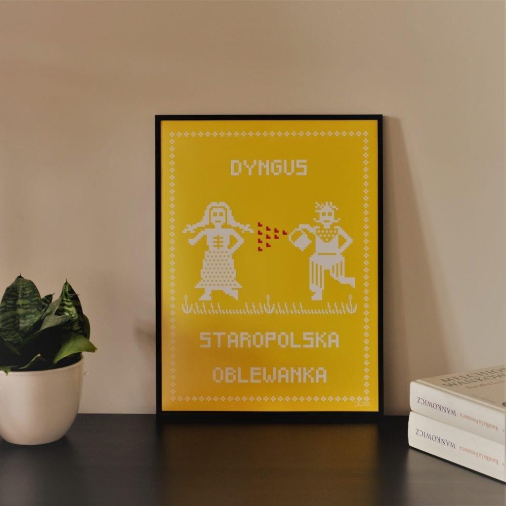 Duxi – polska pracownia, która wyznacza kierunek - Plakat Oblewanka