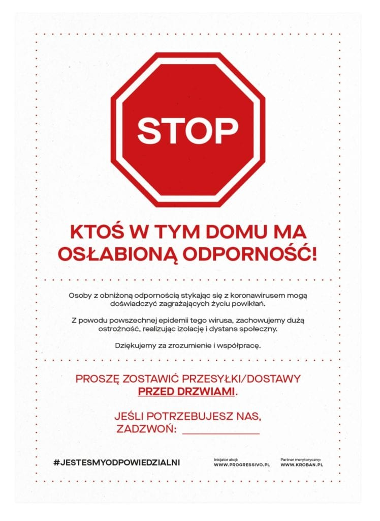 #jesteśmyodpowiedzialni - akcja rodem z Łodzi podbija internet - łódzka firma Progressivo - Jesteśmy odpowiedzialni
