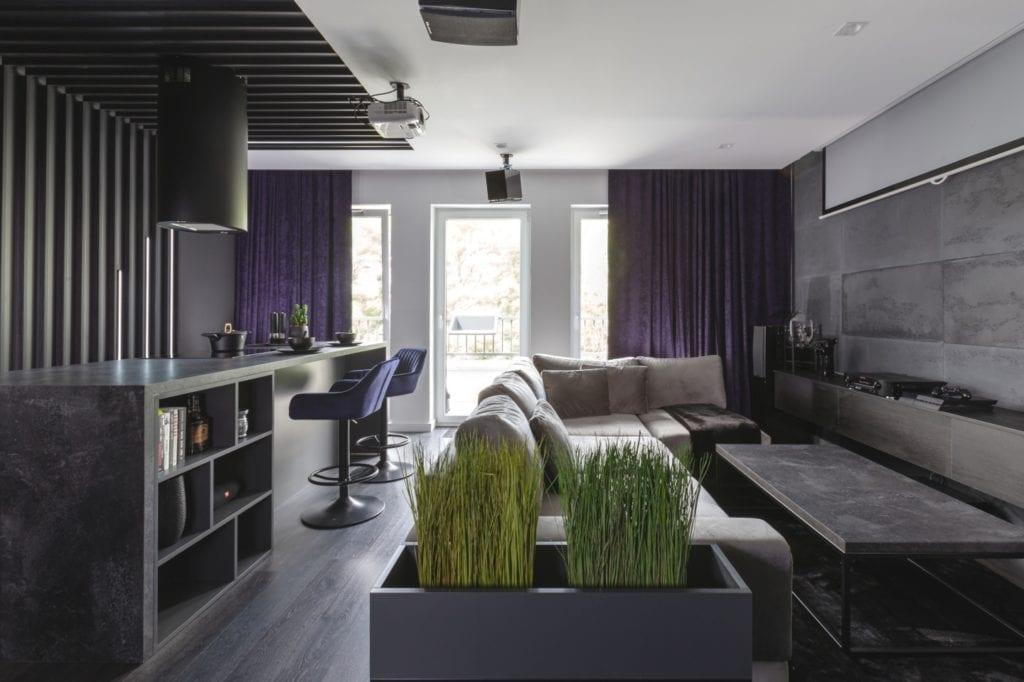 Męskie wnętrze mieszkania w Poznaniu, Mandalinci Studio