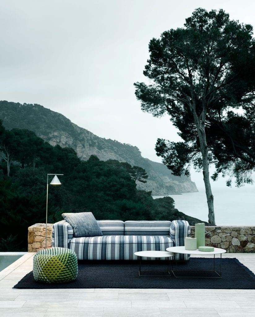 Kolekcje outdoorowe B&B Italia - Antonio Citterio, Philipe'a Starck i Naoto Fukasawa