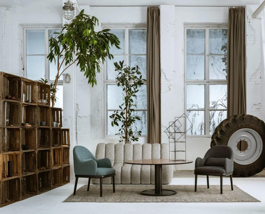 Nobonobo fotel Tupak stolik Oo sofa Wadi projekt Tomek Rygalik