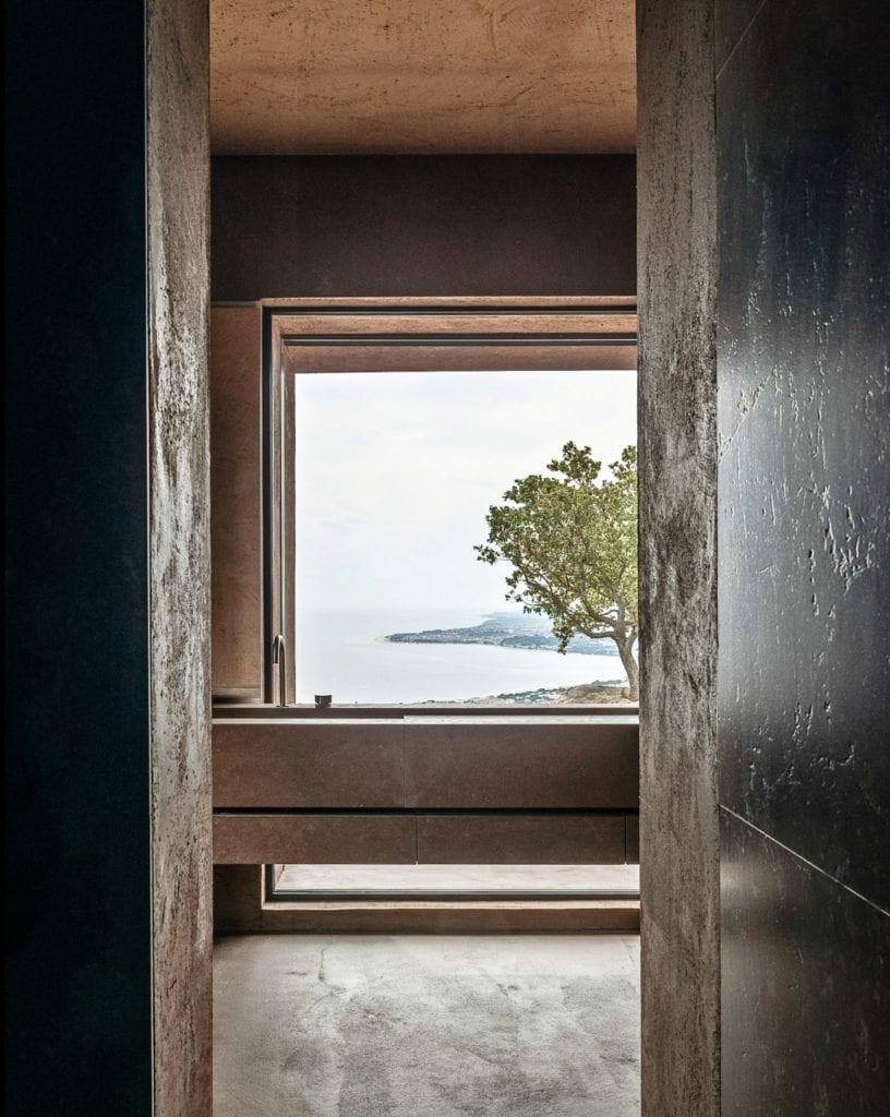 Pracownia MORQ i Villa RA w południowych Włoszech - widok z okna