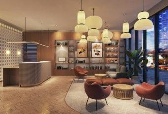 Qubus Hotel Katowice projektu pracowni MIXD