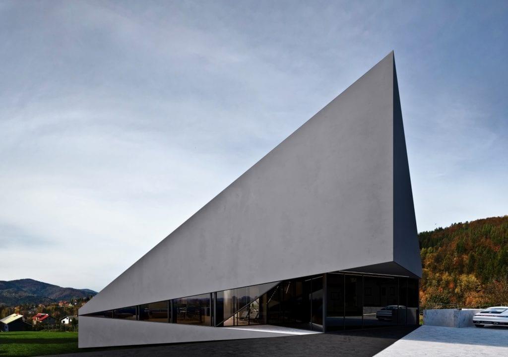 RE: BIAS House - dom projektu REFORM Architekt - architekt Marcin Tomaszewski - dom w Beskidach Małych