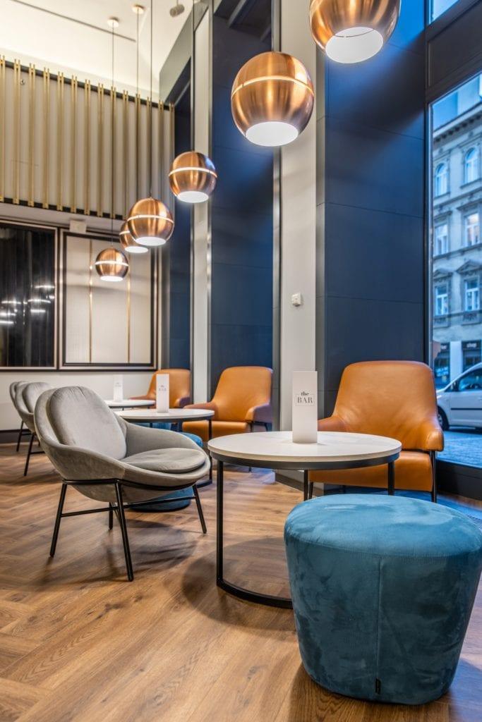 Radisson Blu w Pradze zaprojektowany przez polską pracownię Iliard Architecture & Project Management - część rekreacyjna