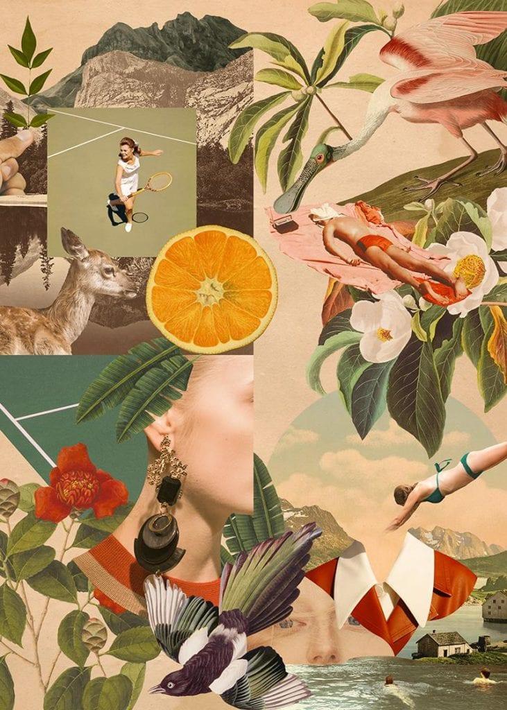 Świętujemy 5. urodziny wall-being - plakat Aleksandra Morawiak Summertime 2