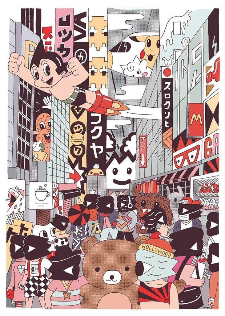Świętujemy 5. urodziny wall-being - plakat King Offert Tokio