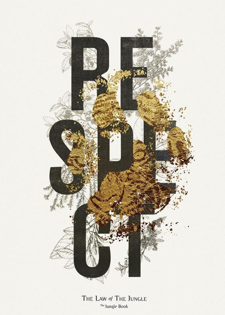 Świętujemy 5. urodziny wall-being - plakat Krzysztof Iwański Jungle Book Respect