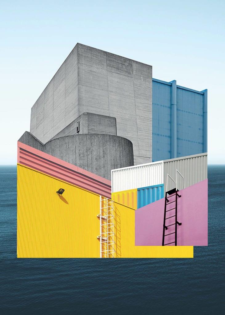 Świętujemy 5. urodziny wall-being - plakat Martyna Berger Architektura