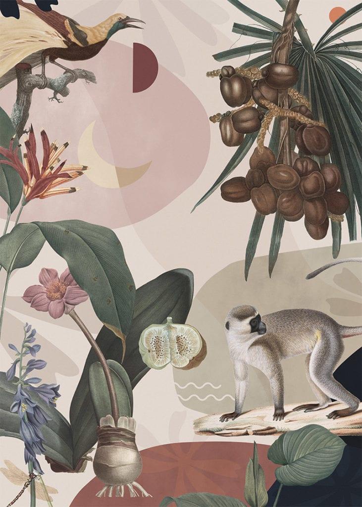 Świętujemy 5. urodziny wall-being - plakat Natasza Kwiatkowska Hello Jungle