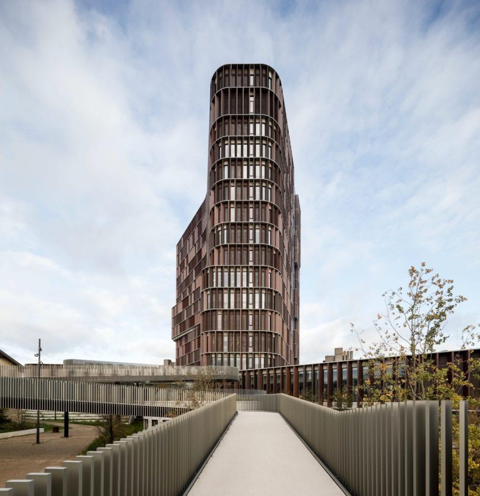 C.F. Møller Architects Mærsk Tower Copenhagen foto Adam Mørk