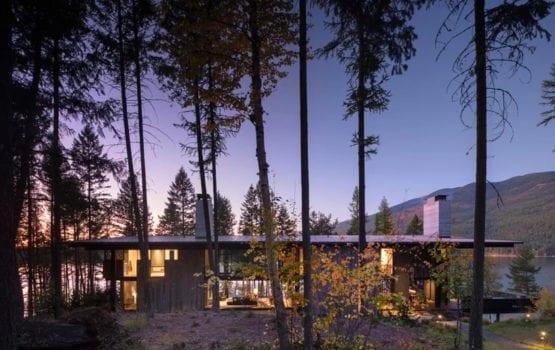 """Dom """"Ważka"""" projektu OlsonKundigArchitects"""