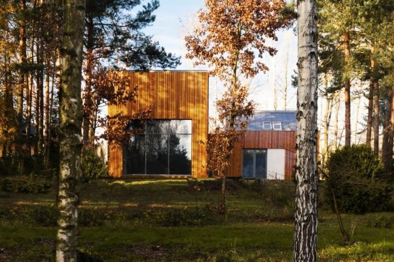 Dom w Kuźnicy Kiedrzyńskiej - projekt Grupa Verso Deltoid