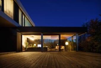 Dom z prześwitem projektu RS+ Robert Skitek