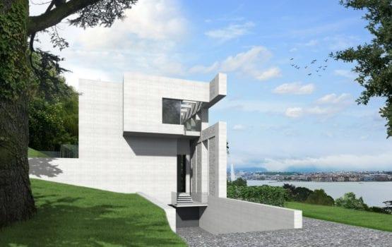 Genewska rezydencja od Biura Architektonicznego Barycz i Saramowicz