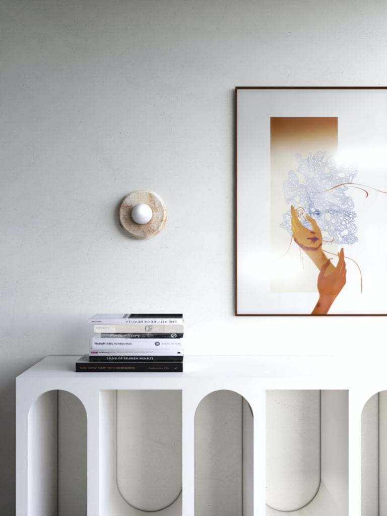 IN studio projektowe i wnętrza domu jednorodzinnego - obraz wiszący na ścianie