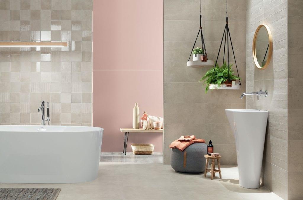 Kolekcja Contrail - płytki ceramiczne od marki Tubądzin - ceramiczne płytki łazienkowe Tubądzin