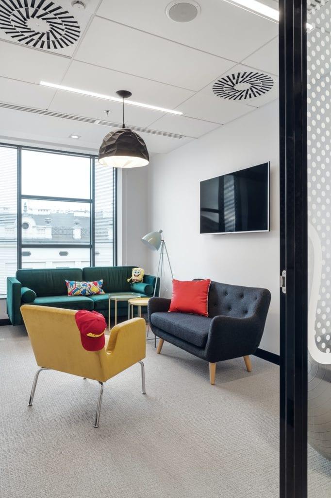 Mood Works z nagrodą w konkursie Outstanding Property Award London 2019 - warszawskie biuro Viacom Polska