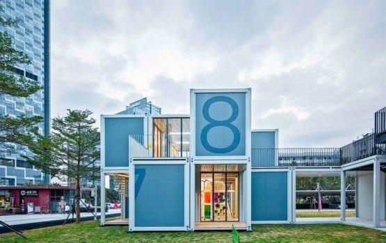 People's Architecture Office i modułowa szkoła w 3 dni