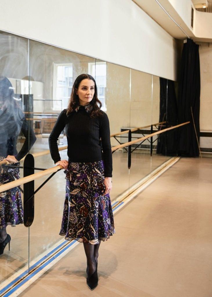 Regał muzyczny - Martino Gamper Tamara Rojo - English National Ballet - zdjęcia Petr Krejci