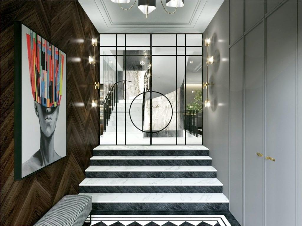 Tissu Architecture i piękne wnętrza willi w sercu Starego Żoliborza