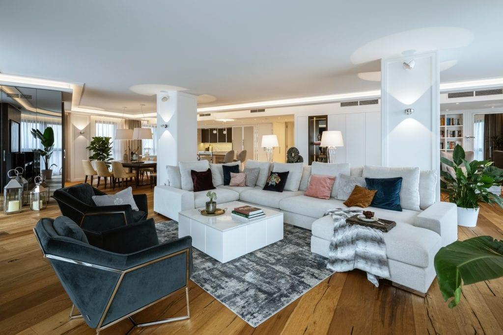 Warszawski apartament projektu pracowni HOLA Design