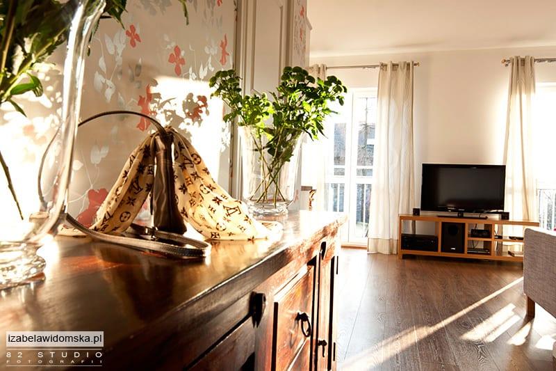 Warszawskie mieszkanie architekt wnętrz Izabeli Widomskiej
