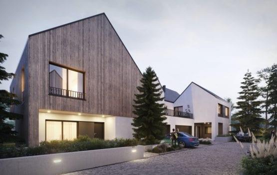 Zendo Wilanów – osiedle unikatowych domów projektu Grupa Plus Architekci