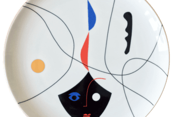 LOOK AT ME PLATES – talerze porcelanowe WOMAN i BLACK MASK