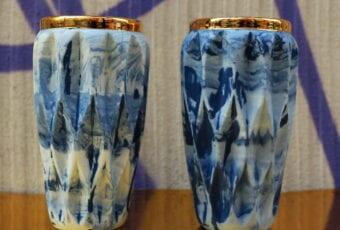 MOSKO CERAMICS – wazon porcelanowy KRISSTAL