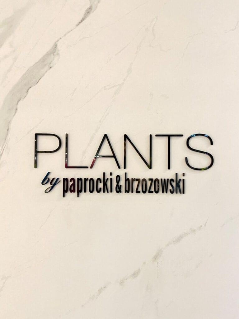 Butik duetu projektantów modypaprocki&brzozowski w Elektrowni Powiśle