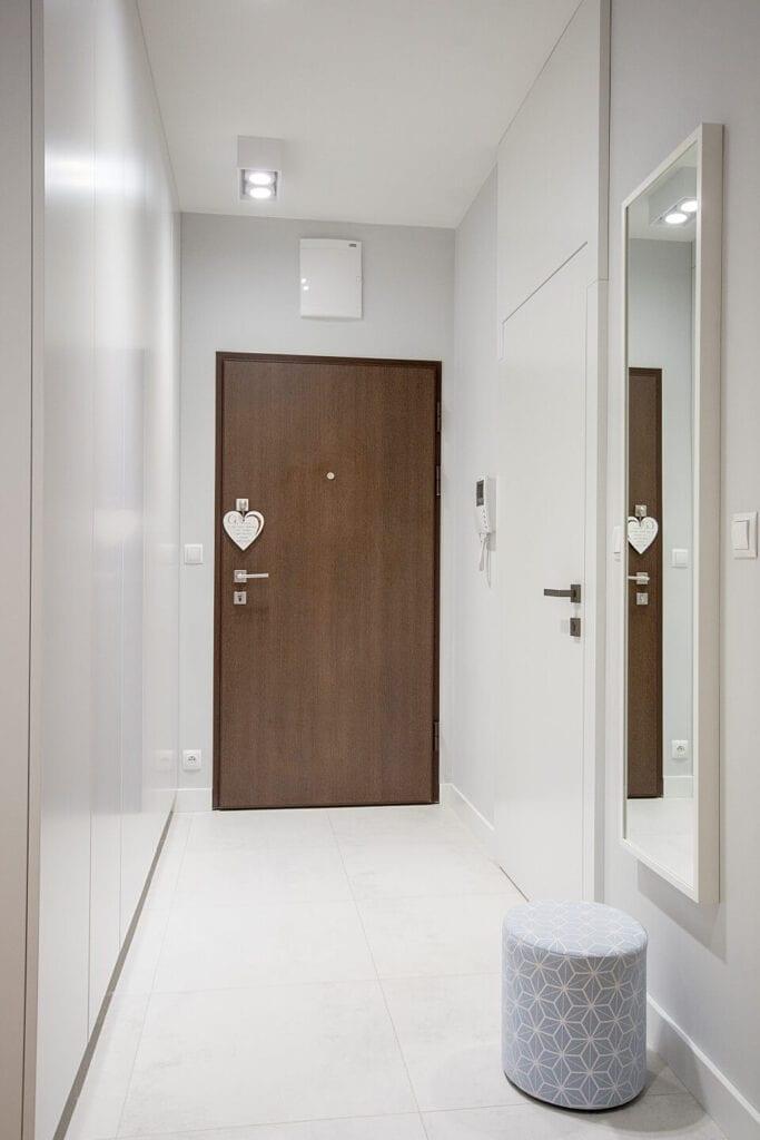 Mieszkanie projektu Design me too - relaks z miętą i różem w tle - foto Katarzyna Czechowicz