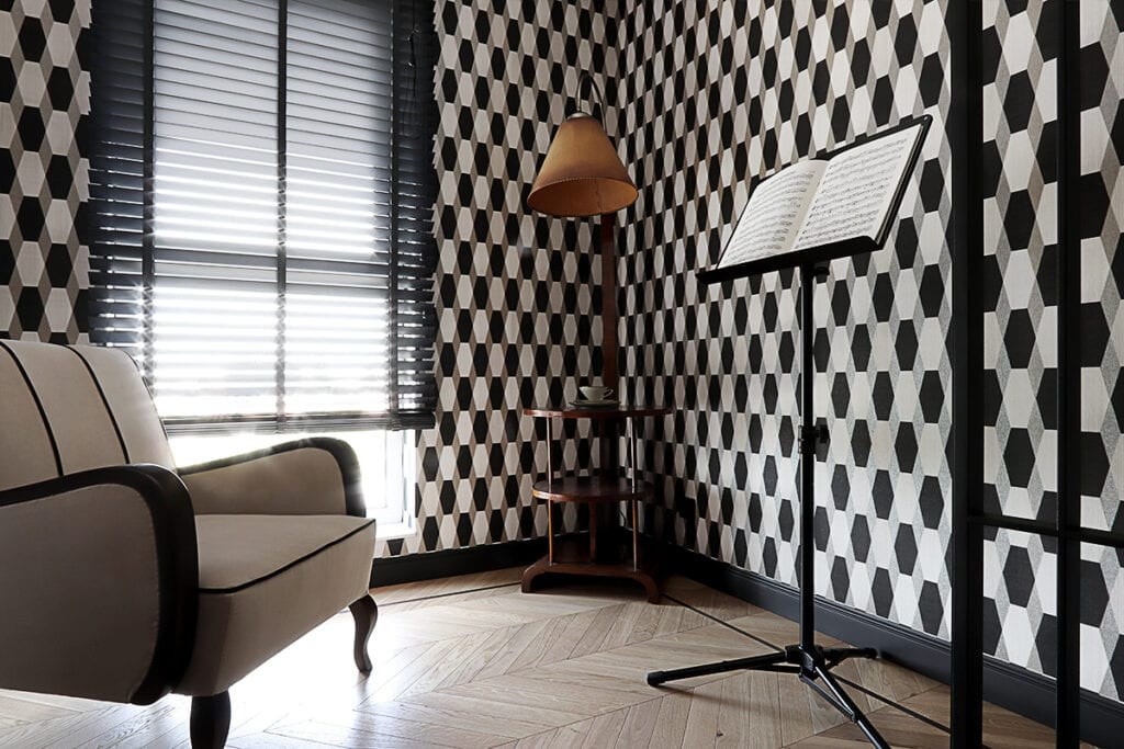Hanna Pietras Architects i apartament w stylu art déco - apartament w łódzkiej kamienicy