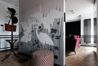 Hanna Pietras Architects i apartament w stylu art déco