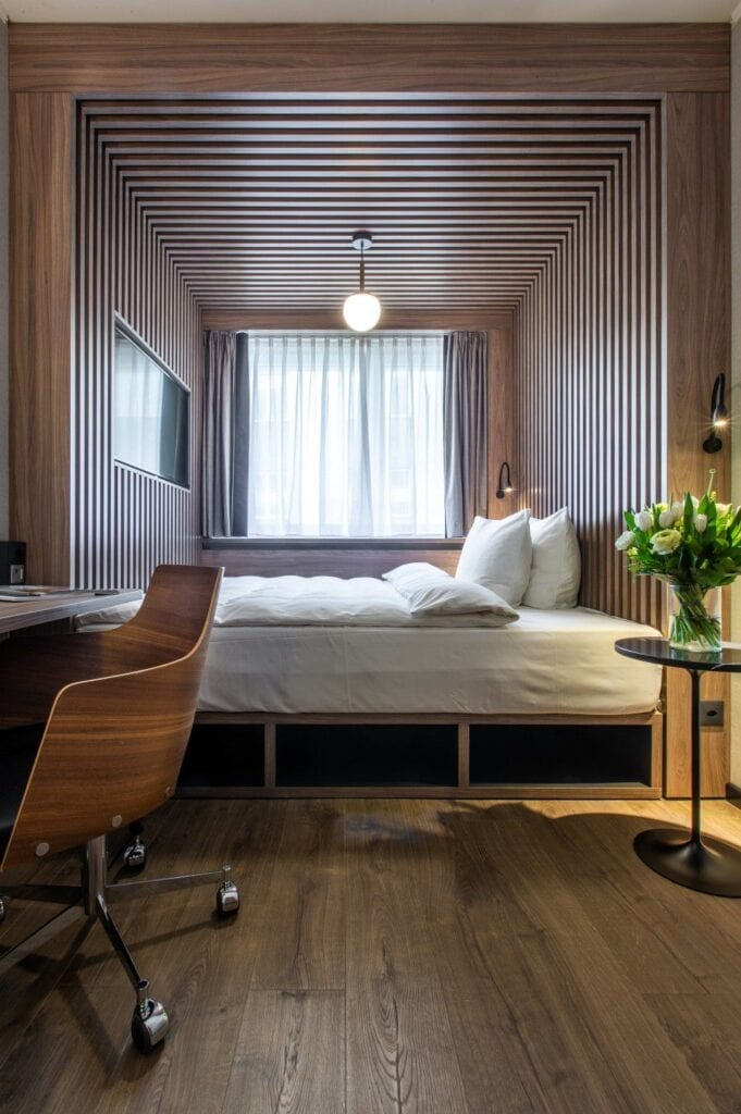 Hotel Radisson Blu Bazylea projektu Iliard Architecture & Interior Design - foto Radisson Hotel Group