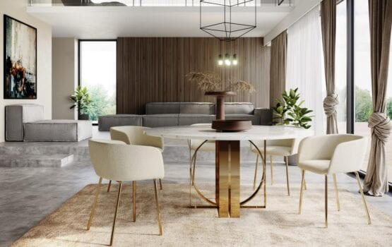 Krzesła Laroc od polskiej marki Absynth